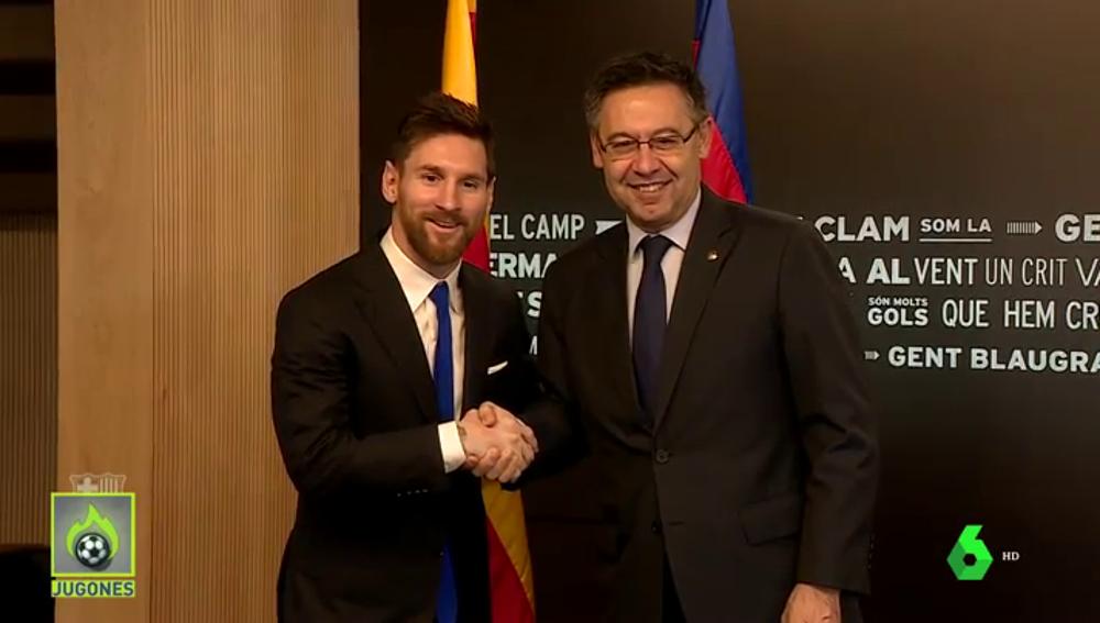 Jorge Messi-Bartomeu: todos los detalles de la reunión clave para el futuro de Leo Messi