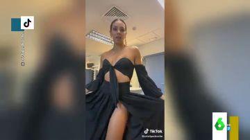 """El sensual baile de Cristina Pedroche que arrasa en Tik Tok: """"De 0 a 100 en un parpadeo"""""""