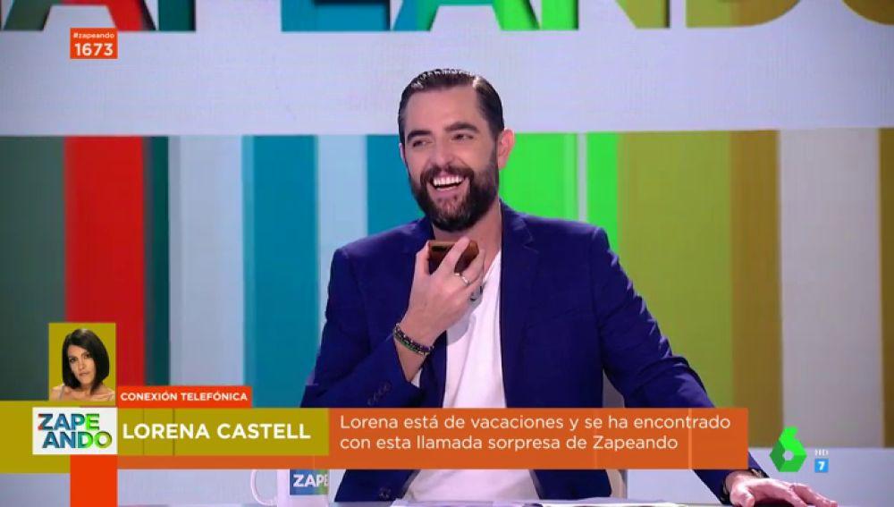La broma telefónica de Dani Mateo a Lorena Castell en pleno directo de Zapeando: