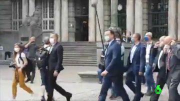 Insultan y escupen al ministro de Sanidad alemán, el cristianodemócrata Jens Spahn
