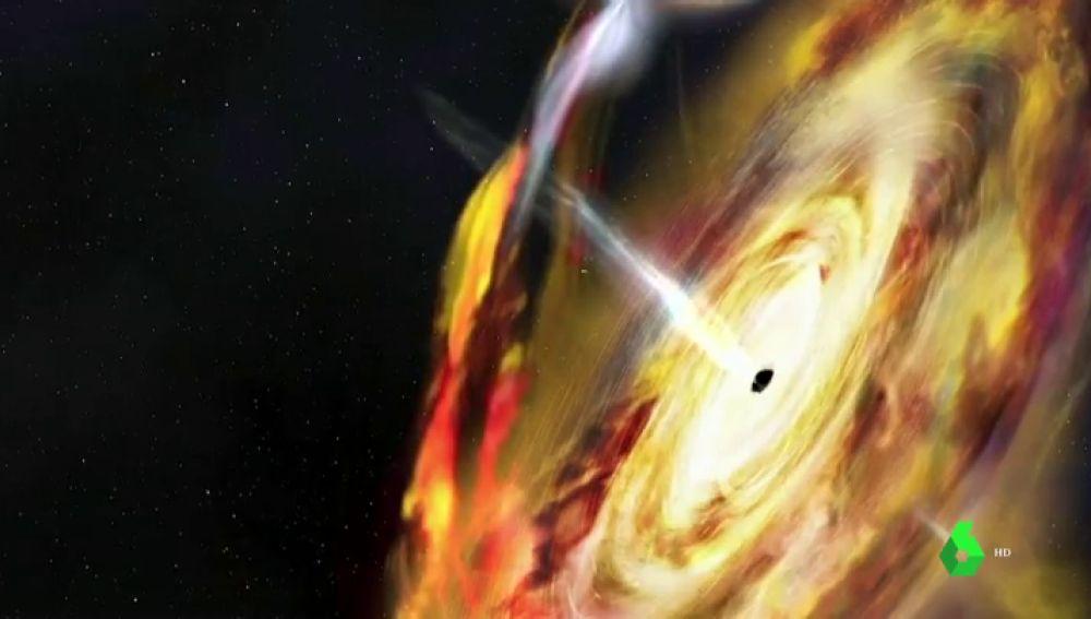 Descubren la fuente de ondas gravitacionales más grande hasta la fecha