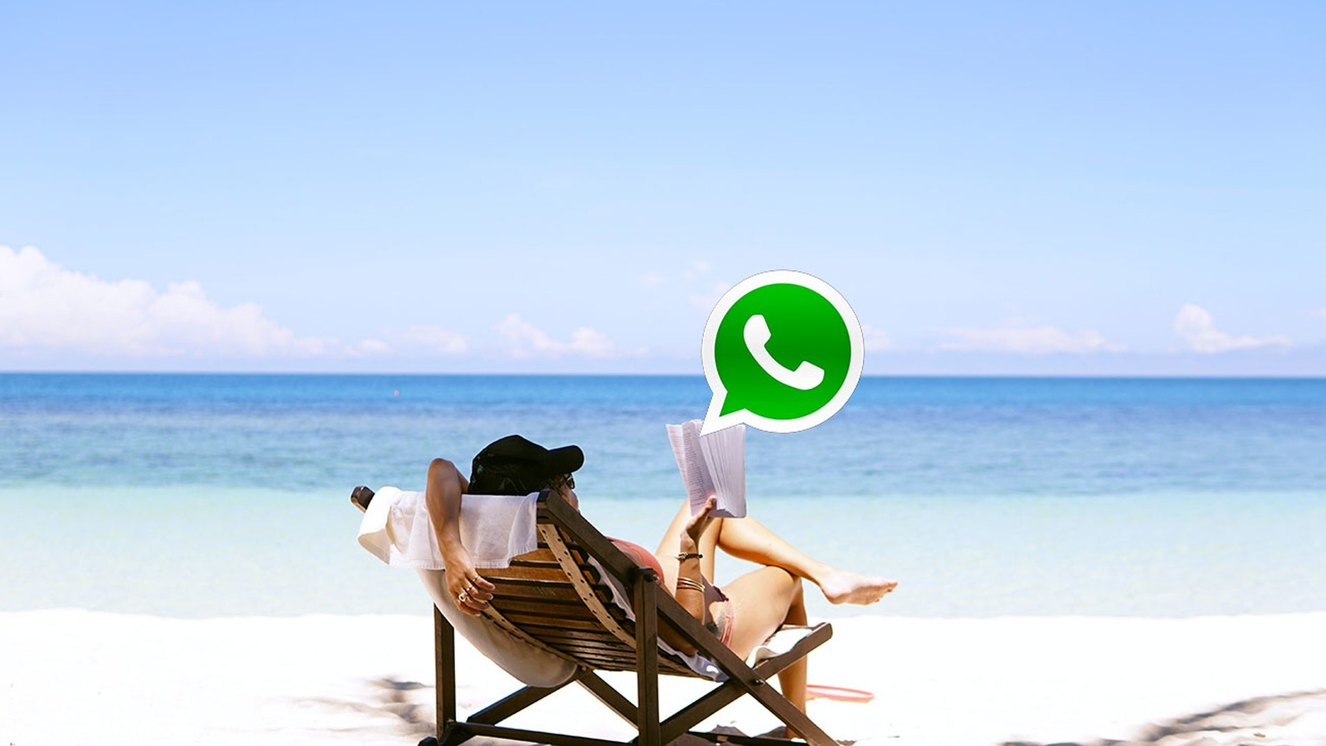 Vacaciones y WhatsApp