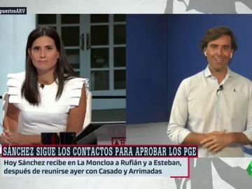"""Montesinos (PP): """"El botón rojo lo tiene Sánchez. Si él quiere, hoy saca a Iglesias del Consejo de Ministros"""""""