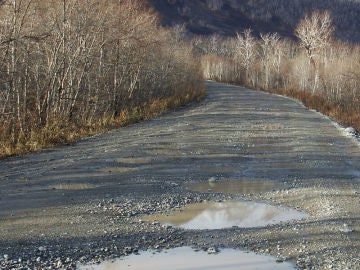 Mal estado de las carreteras
