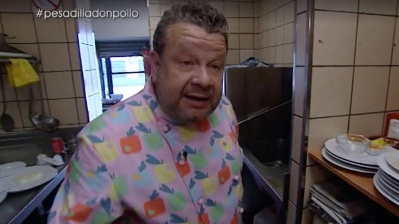 Alberto Chicote, en Don Super Pollo