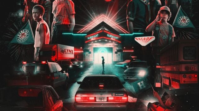 Stranger Things - The Drive Into Experience (Los Angeles)