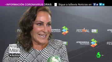 Ana Milán, en el Festival de Televisión de Vitoria