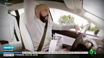 Crean un 'satisfyer' masculino para utilizarlo con el piloto automático del coche