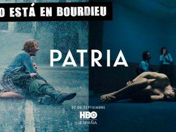Cartel de la serie Patria de HBO