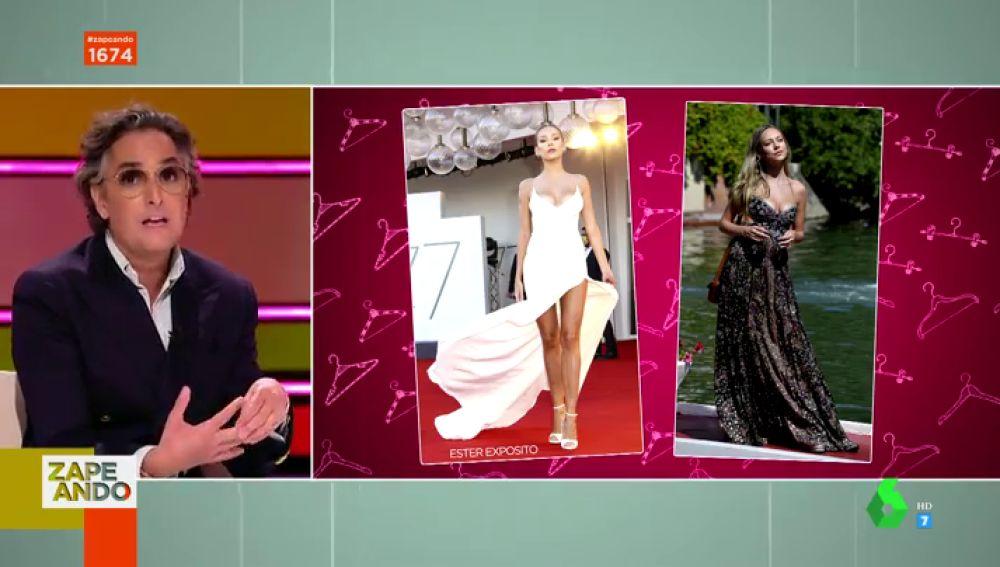"""Ester Expósito y su sorprendente peinado en el festival de Venecia deja alucinado a Josie: """""""