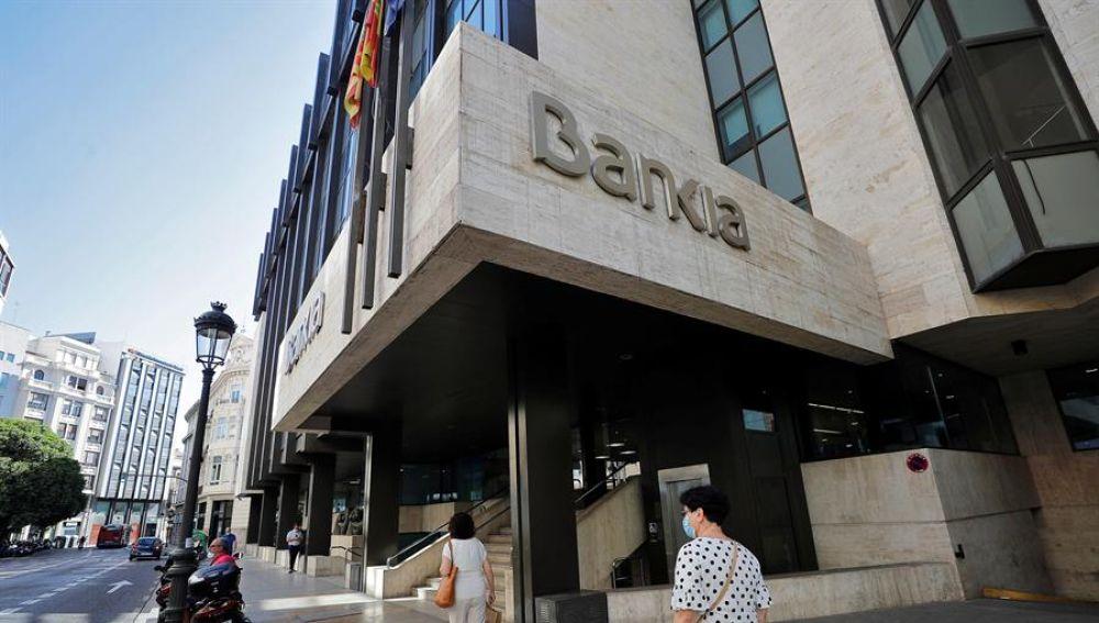 Imagen de la sede social de Bankia