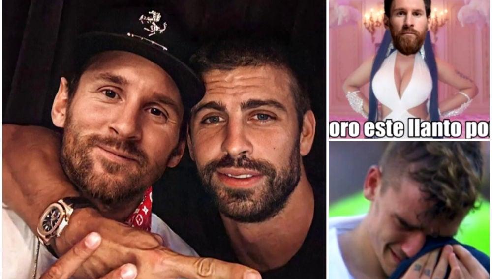 Los memes de la continuidad de Messi