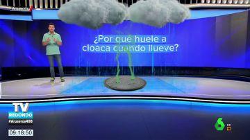 ¿Por qué huele a cloaca cuando llueve?