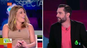 """La picante confesión de Valeria Ros: """"Dani Mateo está obsesionado con estas boobies"""""""