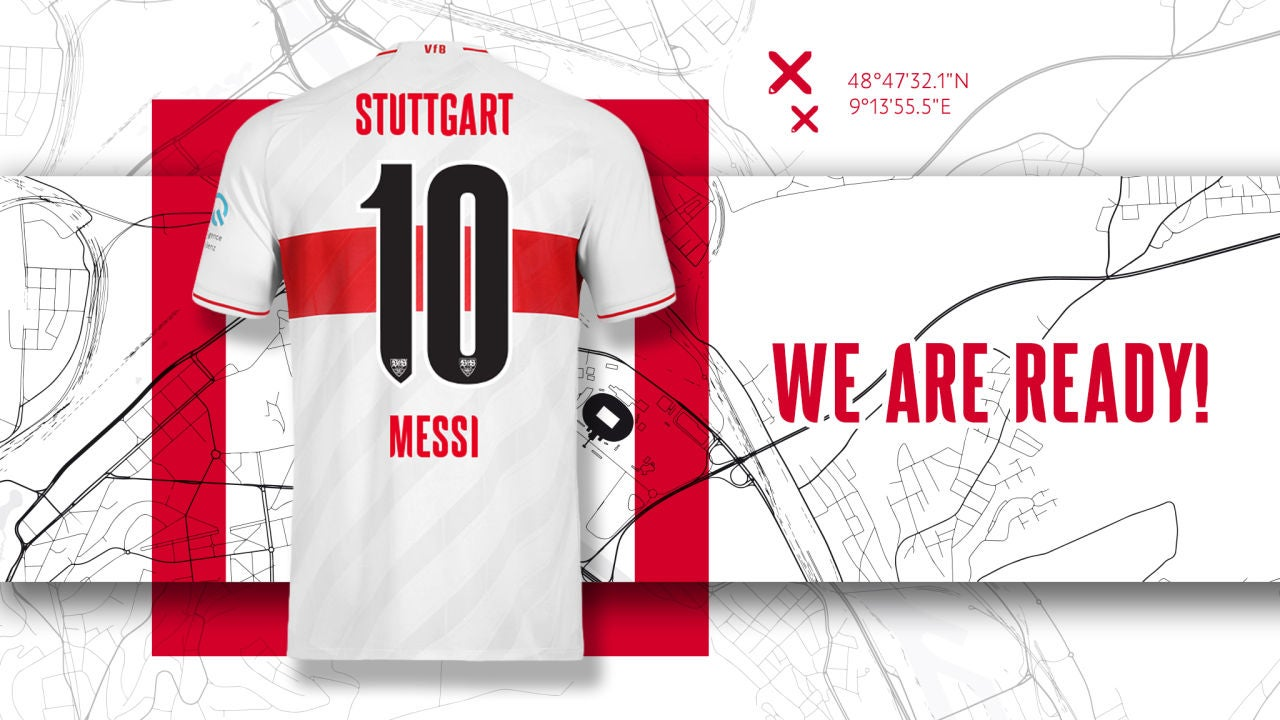 El Stuttgart ya le ha reservado el '10' a Messi