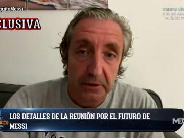 Exclusiva de Josep Pedrerol: ¿Qué hablaron Bartomeu y Jorge Messi?