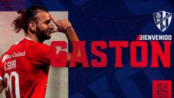 Gastón Silva, nuevo jugador del Huesca