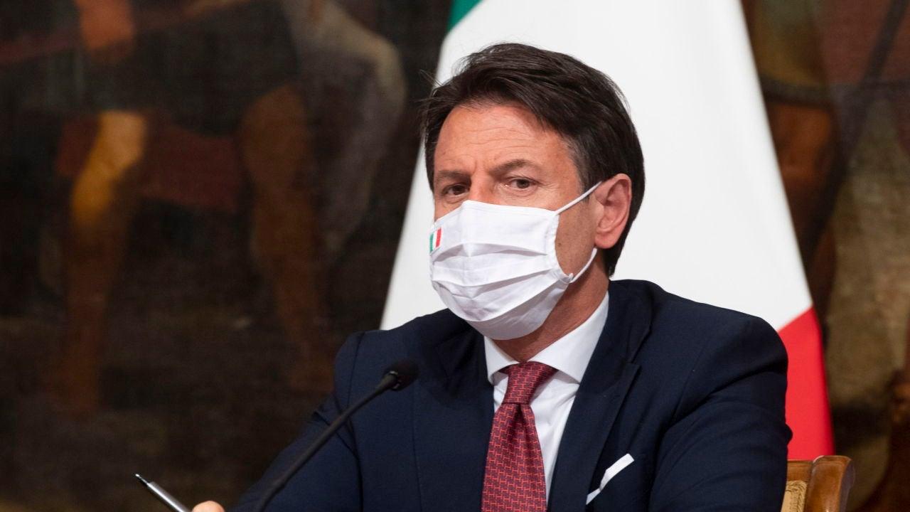 El primer ministro italiano, Guiseppe Conte