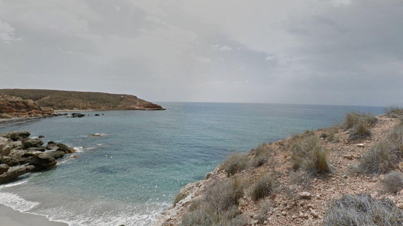 Imagen de una cala de Mazarrón, Murcia