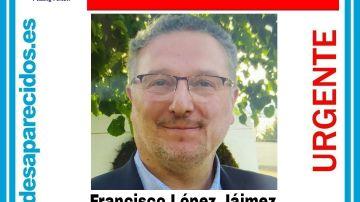 Desaparece Francisco López Jáimez, presidente de un colegio de Valdemoro