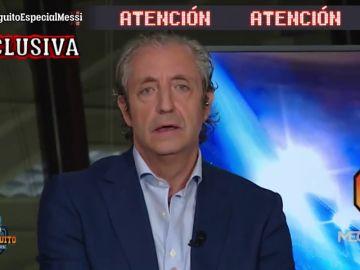 """La exclusiva de Josep Pedrerol en 'El Chiringuito': """"Bartomeu ha cogido un cabreo importante al escuchar a Messi"""""""