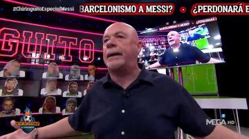 """Alfredo Duro estalla contra Messi en 'El Chiringuito': """"¡Que a ti también te han metido ocho!"""""""