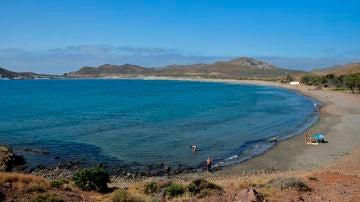 Playa de los Genoveses en el parque natural Cabo de Gata-Níjar (Almería)