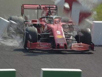 Vettel, adiós a Monza