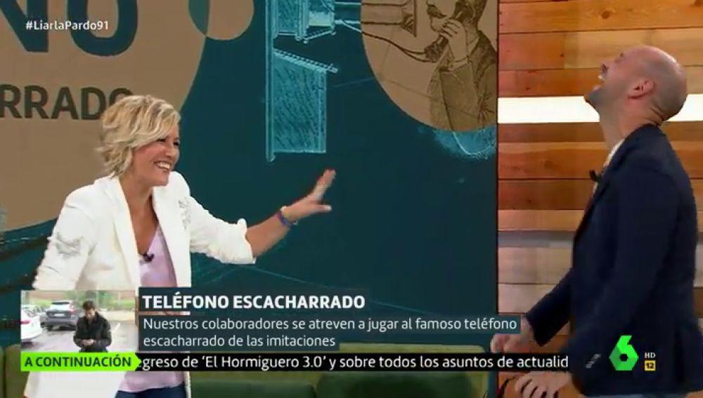 Cristina Pardo y Gonzalo Miró