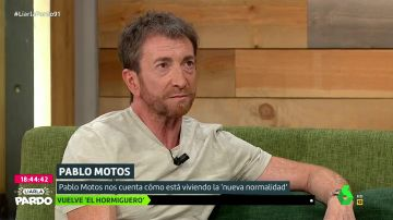 Pablo Motos saca su lado más personal con Cristina Pardo