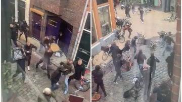 Pelea ultra en Holanda
