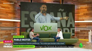"Pablo Motos, de su ""tensa"" entrevista a Abascal: ""Casi llego a las manos con un señor, me daba miedo hasta cruzar pasos de cebra"""