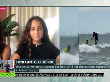 Lo que no se vio del rescate de Toni Cantó, el Aquaman español: habla de una de las jóvenes rescatadas
