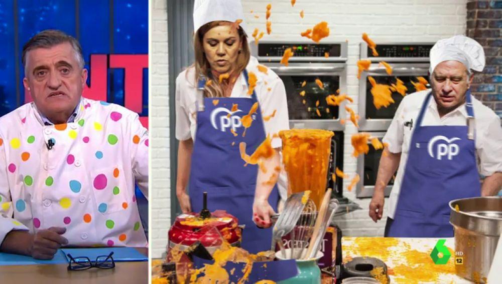 """Wyoming 'renueva' Génova 13 en 'Pesadilla en la Kitchen': """"A estos dos cocineros les han pillado con las manos en la masa"""""""