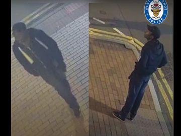 Imagen de uno de los sospechosos de los apuñalamientos en Birmingham