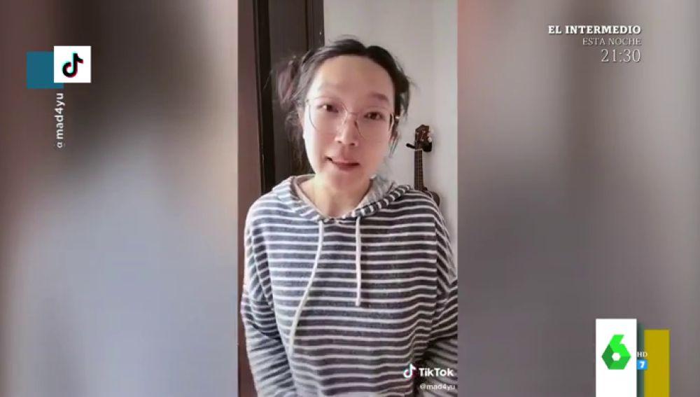 Los divertidos vídeos virales de Yu, la china que desmonta tópicos chinos en Tik Tok