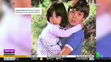 La tierna fotografía de la infancia de Tamara Falcó y Enrique Iglesias de hace 35 años