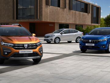 Dacia Sandero, Sandero Stepway y Logan