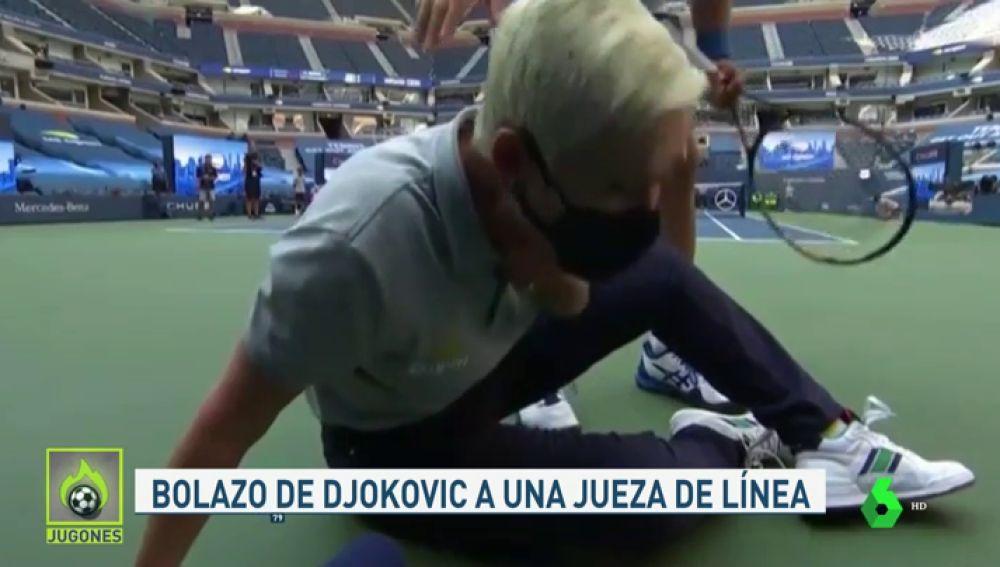 Los Estremecedores Gritos De Dolor De La Jueza De Linea A La Que Djokovic Golpeo
