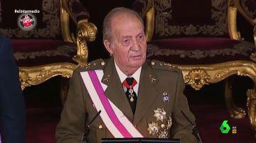 El hitazo del rey Juan Carlos al ritmo de 'Soy un truhán soy un señor'