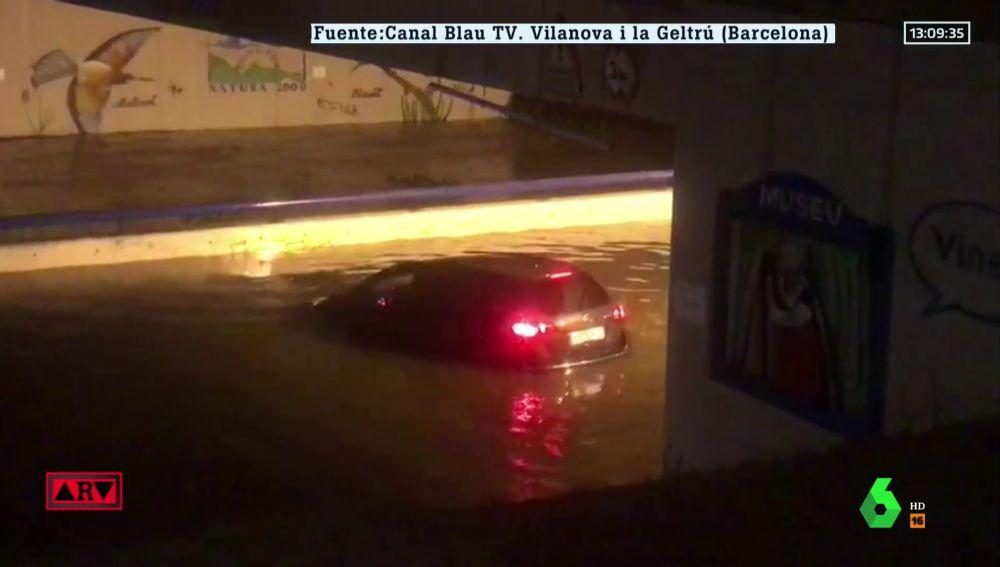 La DANA provoca inundaciones y destrozos en Cataluña y Baleares: estas son las imágenes