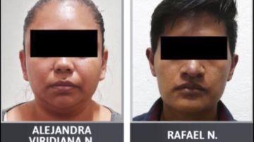 Alejandra y Rafael, detenidos por maltrato infantil