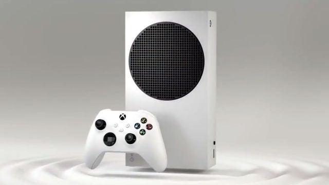 Nueva Xbox Series S de Microsoft.