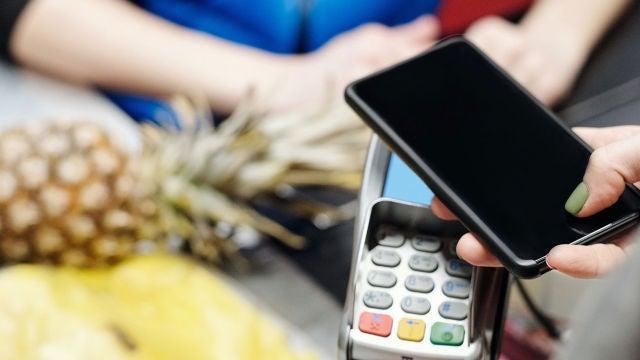Pagando con el móvil