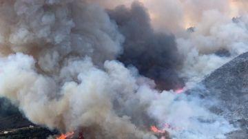 Una fiesta para revelar el sexo de un bebé provoca un incendio en California
