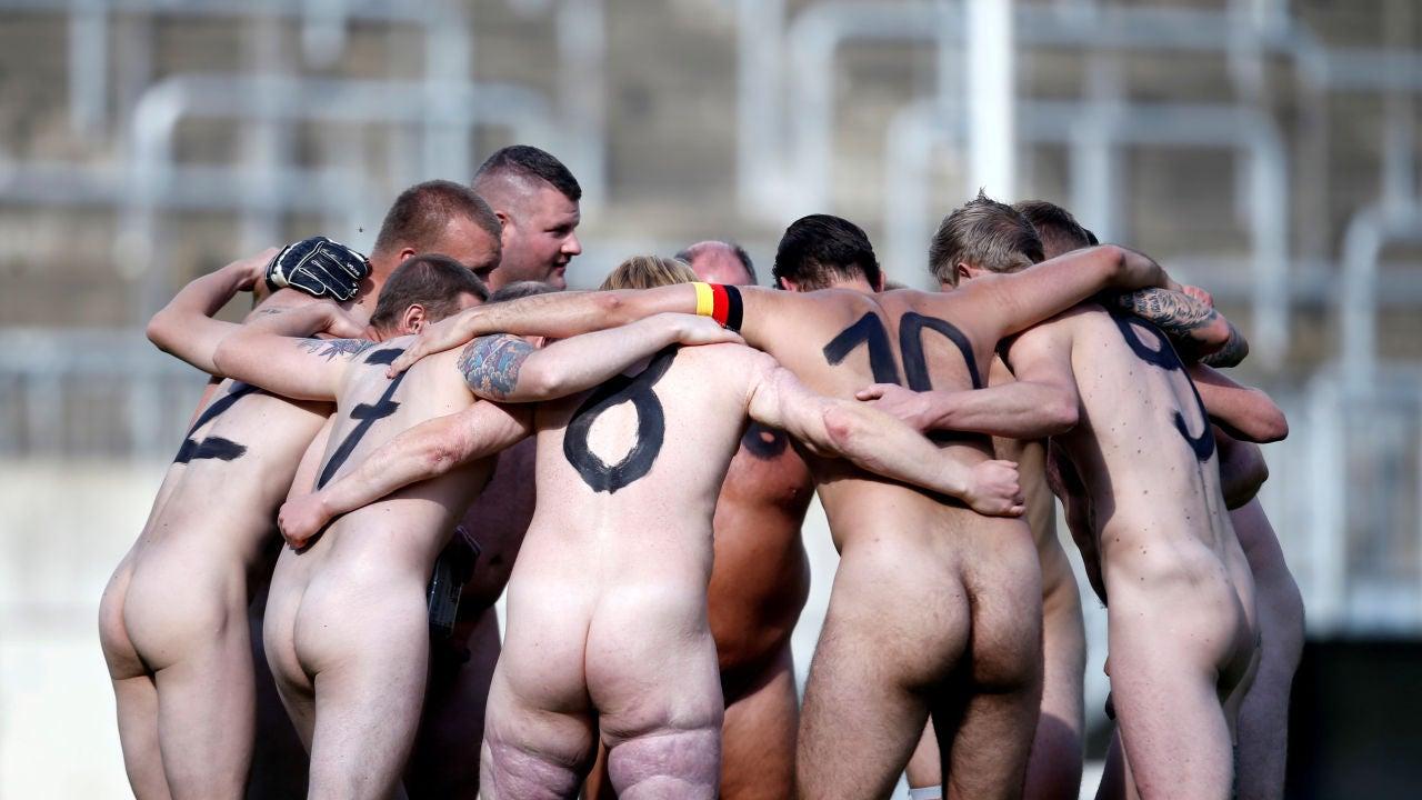 Primer partido internacional nudista del mundo
