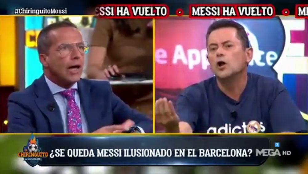 """""""Nadie ha querido a Leo Messi"""": Tomás Roncero hace explotar a Cristóbal Soria"""