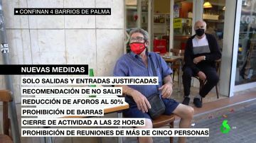 Cuatro barrios de Palma volverán a vivir un confinamiento: solo se podrá salir con motivo justificado a partir del viernes