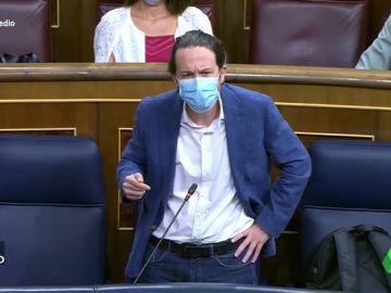 Vídeo manipulado - El rifirrafe entre Abascal e Iglesias en el Congreso que no se vio en televisión