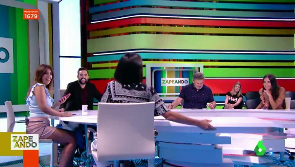 Cristina Plaza desvela en pleno directo qué dicen las redes de los zapeadores: y sí, hay sorpresa de Lorena Castell